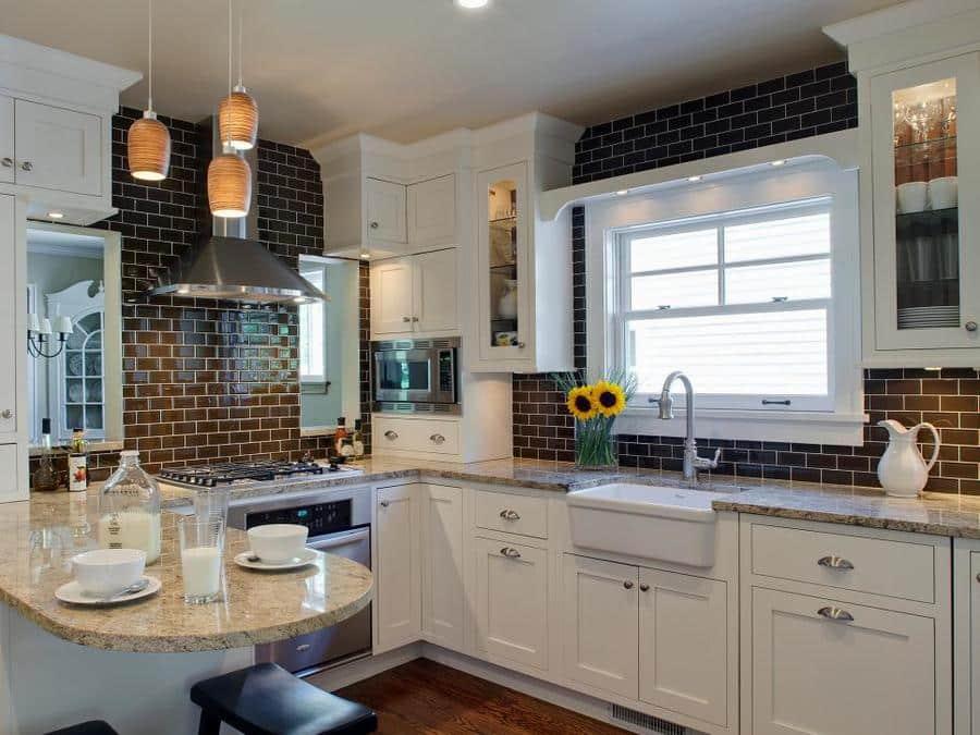 45 kitchen splashes hgtv